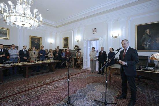 Pożegnanie ministra Bogdana Zdrojewskiego. fot. Danuta Matloch