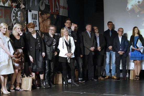 Uroczyste wręczenie nagród w Ogólnopolskim Konkursie na Wystawienie Polskiej Sztuki Współczesnej. fot.: Danuta Matloch