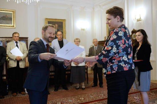 Powołanie Krajowej Rady Bibliotecznej na lata 2014-2019 . fot.: Danuta Matloch