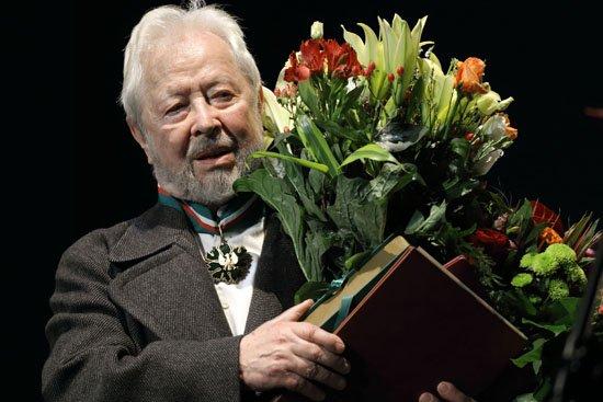Władysław Kowalski odznaczony Złotym Medalem Gloria Artis. fot.: Danuta Matloch