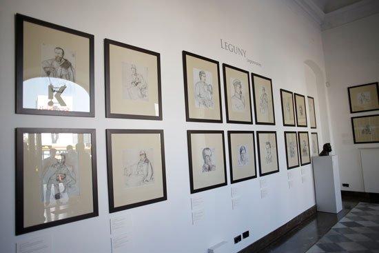 Otwarcie wystawy w setną rocznicę Czynu Legionowego w warszawskiej Galerii Kordegarda. fot. Danuta Matloch