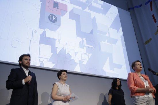 Ogłoszenie wyników procedury wyboru architekta przyszłego zespołu budynków na stołecznym placu Defilad. fot. Danuta Matloch