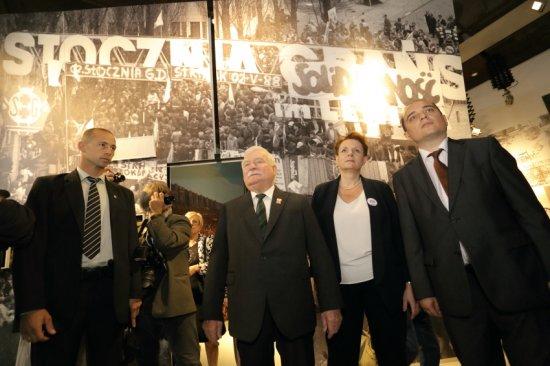 Otwarcie Europejskiego Centrum Solidarności w Gdańsku. fot. Grzegorz Mehring / Archiwum ECS