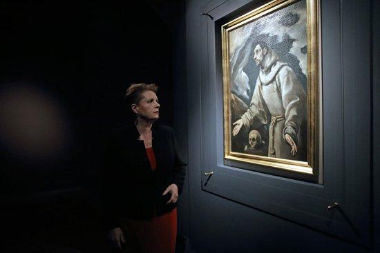 W otwarciu wystawy wzięła udział Minister Kultury i Dziedzictwa Narodowego prof. Małgorzata Omilanowska. fot. Danuta Matloch