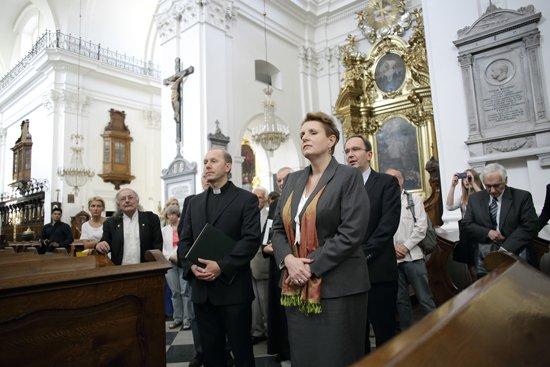 Stan zachowania serca Fryderyka Chopina- konferencja prasowa. fot.: Danuta Matloch