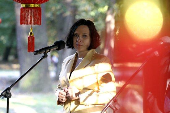 Wiceminister kultury Chin z wizytą w Polsce. fot.: Danuta Matloch