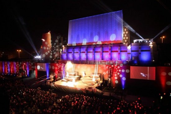 Otwarcie Teatru Szekspirowskiego. fot. Krzysztof Mystkowski