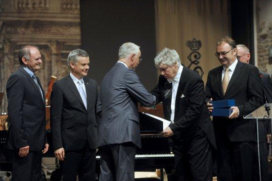 Wręczenie Międzynarodowej Nagrody Wyszehradzkiej 2012