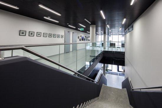 Budynek dydaktyczny PWSFTviT w Łodzi - Uczelniane Centrum Dydaktyki Nowych Mediów - 18,9 mln zł fot.: MKiDN/POiIŚ