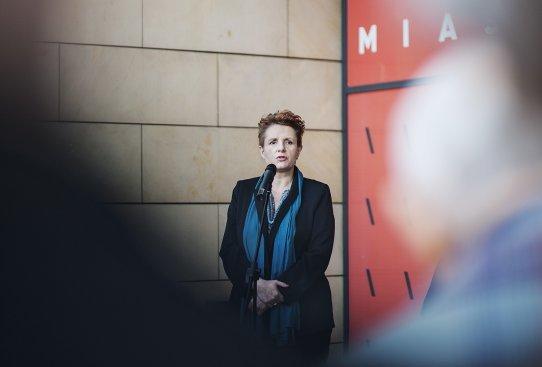Wernisaż wystawy Narodziny miasta. Gdyński modernizm w dwudziestoleciu międzywojennym fot. Bogna Kociumbas
