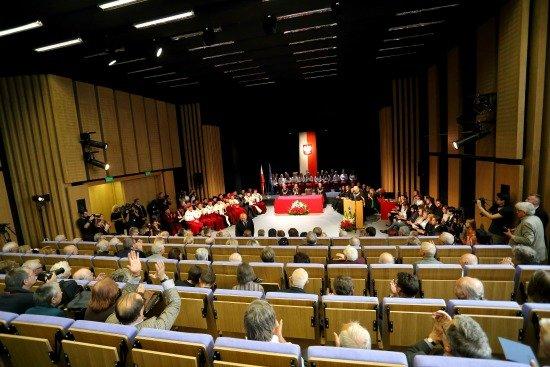 Uroczystość otwarcia nowego budynku Akademii Sztuk Pięknych w Warszawie / fot. Danuta Matloch