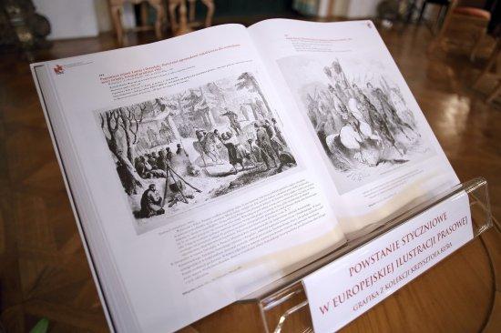 Gościem uroczystej prezentacji publikacji na Zamku Królewskim w Warszawie, był wiceminister kultury Piotr Żuchowski. Fot.: Danuta Matloch