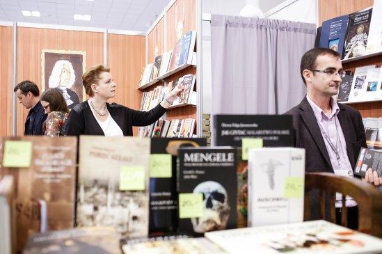 Minister Małgorzta Omilanowska na 18. Międzynarodowych Targach Książki w Krakowie. Fot.: Danuta Matloch