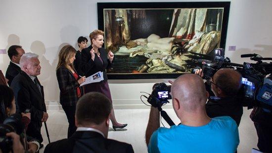 W otwarciu wystawy Orientalizm w sztuce polskiej w Muzeum Pera w Stambule uczestniczyła Minister Kultury i Dziedzictwa Narodowego prof. Małgorzata Omilanowska. Fot.: Studio Panato dla Culture.pl