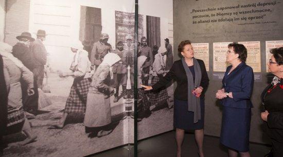 Wystawa stała w Muzeum Historii Żydów Polskich. fot.M. Śmiarowski/KPRM