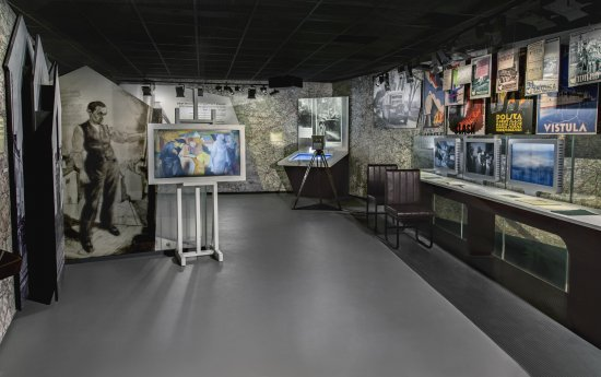 Wystawa stała w Muzeum Historii Żydów Polskich. fot. M. Starowieyska,  D.GOLIK / Muzeum Historii Żydów Polskich POLIN