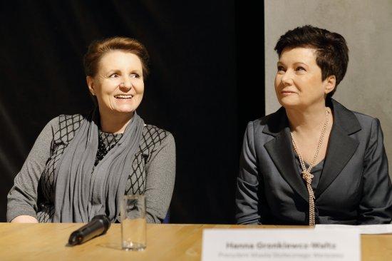 Inauguracja projektu Budowa Międzynarodowego Centrum Kultury Nowy Teatr. fot. Danuta M atloch