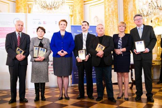 Minister Omilanowska na uroczystości otwarcia 23. Targów Książki Historycznej. fot. Danuta Matloch