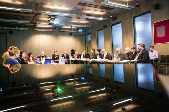Pierwsze posiedzenie nowego składu Rady Programowej Narodowego Instytutu Fryderyka Chopina. fot. Danuta Matloch