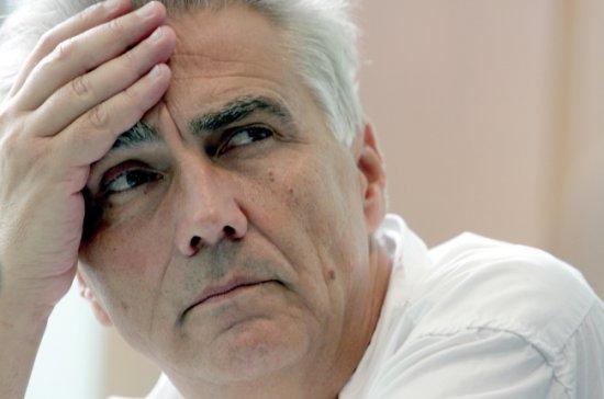 Reżyser i scenarzysta filmowy Krzysztof Krauze zmarł 24 grudnia 2014 roku w wieku 61 lat.  fot.:PAP/Piotr Polak