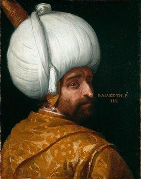 Obraz Paolo Veronese (oraz warsztat),  Sułtan Bajazyd I,  (fot. Pracownia Fotograficzna MNK)