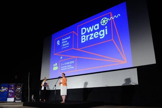Minister Omilanowska na festwialu Dwa Brzegi. autor zdjęcia: Michał Wargin