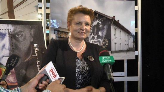 Wizyta Minister M.Omilanowskiej w Teatrze Witkacego. autor zdjęcia: Marcin Szyndler