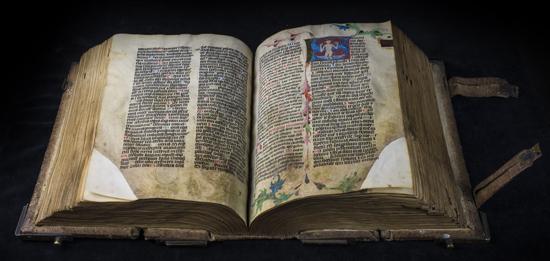 Zaginiony podczas wojny,  średniowieczny rękopiśmienny brewiarz ze zbiorów Biblioteki Uniwersyteckiej we Wrocławiu.