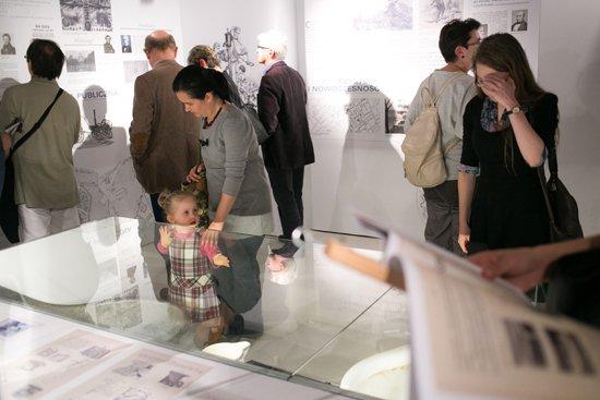 Uroczyste otwarcie wystawy Ziemia obiecana. Miasto i nowoczesność. autor zdjecia: Danuta Matloch
