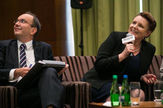 Konferencja prasowa przed XVII Międzynarodowym Konkursem Pianistycznym im. Fryderyka Chopina. autor zdjecia: Danuta Matloch
