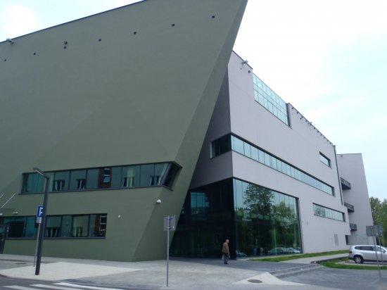 Na zdjęciu: Nowy budynek ASP w Katowicach