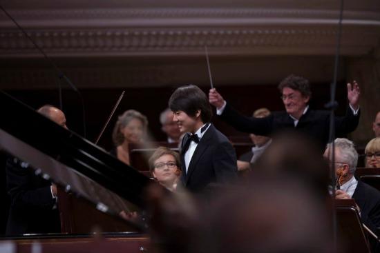 Na zdjęciu: Seong-Jin Cho - zwycięzca XVII Międzynarodowego Konkursu Pianistycznego im. Fryderyka Chopina. autor zdjęcia: Wojciech Grzędziński