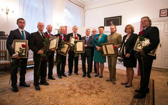 Wręczenie honorowych tytułów Mistrz Rzemiosł Artystycznych. autor zdjęcia: Danuta Matloch