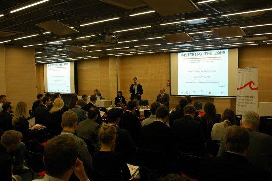 Na zdjęciu: Otwarcie konferencji MASTERING THE GAME. autor zdjęcia: Sylwia Piekarska