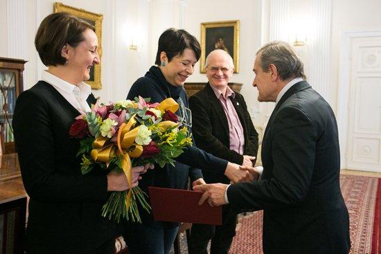 Na zdjęciu: Uroczystość wręczenia nominacji w MKiDN. autor zdjęcia: Danuta Matloch