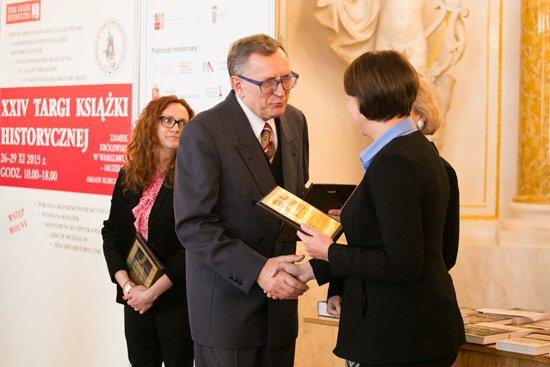 Na zdjęciu: Uroczystość ogłoszenia laureatów Nagrody KLIO,  przyznawanej od 1995 r. autorom książek i ich wydawcom za szczególny wkład w popularyzację historii. autor zdjęcia: Danuta Matloch