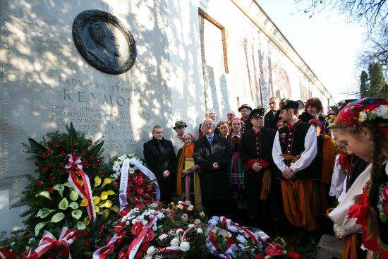 90. rocznica śmierci Władysława Stanisława Reymonta. fot. Danuta Matloch