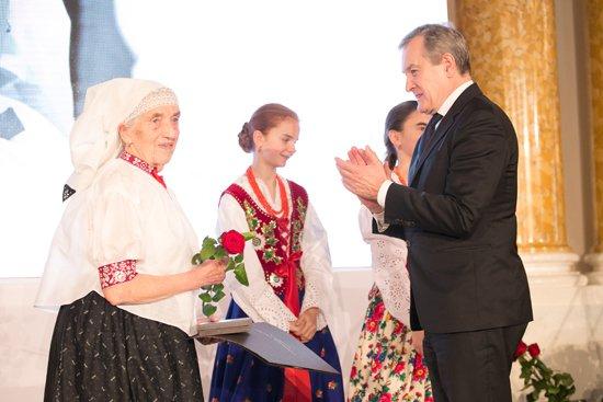 Na zdjęciu: Gala 40. edycji Nagrody im. Oskara Kolberga. fot. Danuta Matloch
