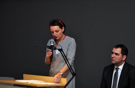 na zdjęciu: Podskeretarz Stanu Magdalena Gawin na konferencji Zmiany systemowe – nowa szansa dla zabytków