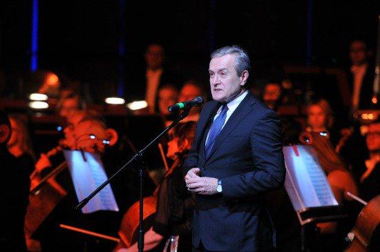 na zdjęciu:  Uroczyste otwarcie wielofunkcyjnej sali koncertowej w toruńskim Centrum Kulturalno-Kongresowym Jordanki.