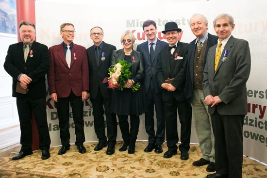 Wręczenie Medali Zasłużony Kulturze Gloria Artis. fot.: Danuta Matloch