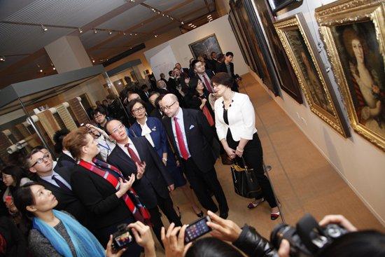 Uroczyste otwarcie wystawy Skarby z kraju Chopina… w Chińskim Muzeum Narodowym w Pekinie