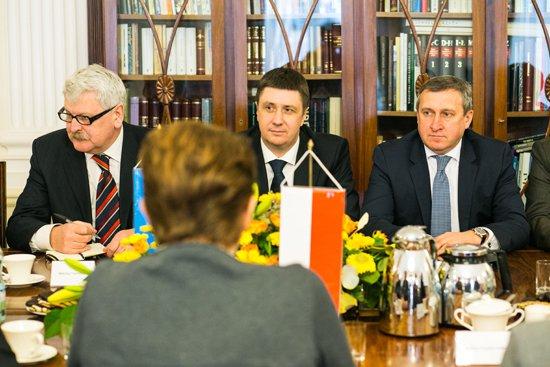 Spotkanie ministrów kultury Polski i Ukrainy. fot. Danuta Matloch