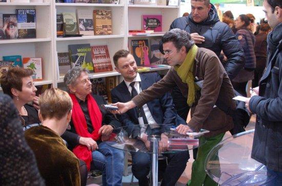 Polskie stoisko na Salon du livre de Paris. fot. Sophie Bouteiller