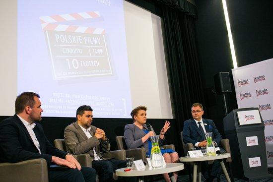 Konferencja inaugurująca projekt Kultura Dostępna w kinach. fot. Danuta Matloch