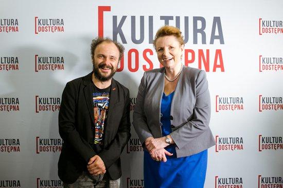 Inauguracja projektu Kultura Dostępna w kinach. fot. Danuta Matloch