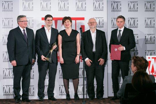 Gala VIII edycji konkursu Życie w architekturze. fot. Danuta Matloch
