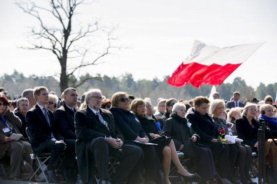 Obchody 70 rocznicy wyzwolenia obozu koncentracyjnego KL Ravensbruck. fot. Piotr Molęcki/KPRP