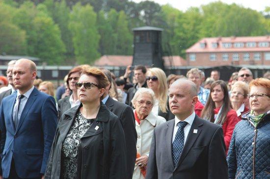 Obchody 70. rocznicy wyzwolenia KL Stutthof/fot. dzięki uprzejmości  Muzeum Stutthof w Sztutowie