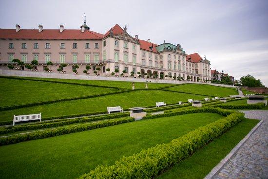 Odtworzony Ogród Górny Zamku Królewskiego w Warszawie. fot. Danuta Matloch